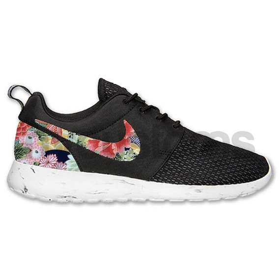 Nike Roshe Run Damen Grau Meliert