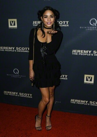dress vanessa hudgens little black dress