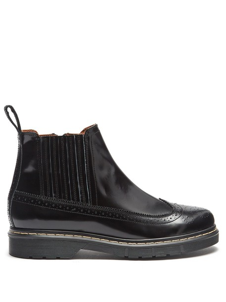 Joseph ankle boots leather black shoes