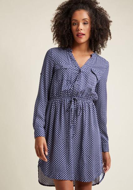 13158403 dress navy dress drawstring navy white blue