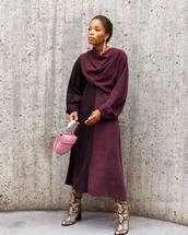 shoes,boots,high heels boots,snake print,midi dress,long sleeve dress,two colour,handbag,earrings