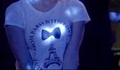 shirt,white,paris,pretty little liars,black,white t-shirt
