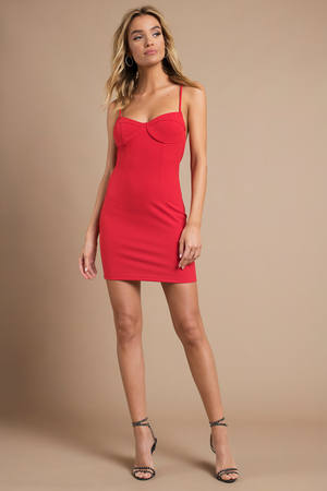 Pull It Together Bodycon Dress