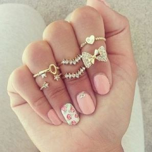Janette ring set