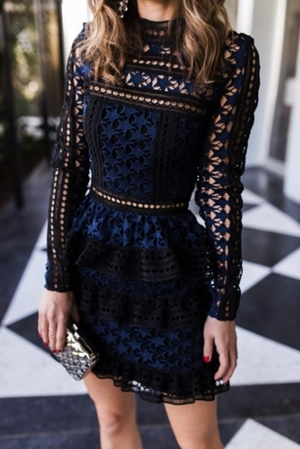 dress clothes boho black dress beautiful rock elegant navy fashion trendy women