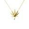 Mari leaf necklace