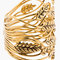 Aurélie bidermann gold wheat cuff for women | ssense