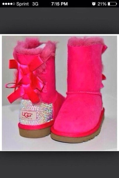 pink diamond uggs