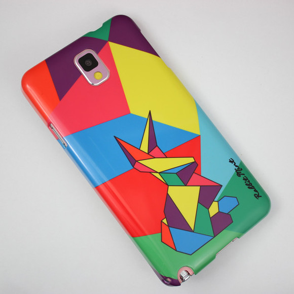 geometric jewels handphone case case cover women colorful