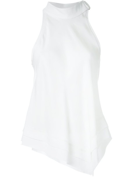 Manning Cartell - 'On The Edge' top - women - Spandex/Elastane/Viscose - 14, White, Spandex/Elastane/Viscose