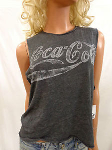 Urban Outfitters Chaser Chaser Coca Cola Muscle Gray Tee Shirt Size Medium | eBay