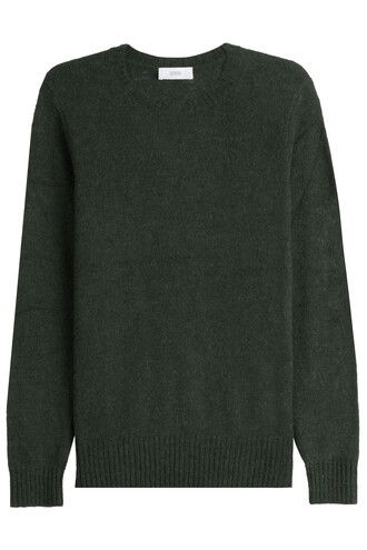 pullover wool grey sweater