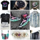 shoes,jordans,kicks,chicks in kicks,kicks with chicks,tomboy,crop tops,hat,seenfromtaris,iconik,galaxy print,iconik fashion,jacket,sweater,jewels,shirt,top