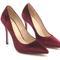 Most comfortable heels - wine velvet stilettos