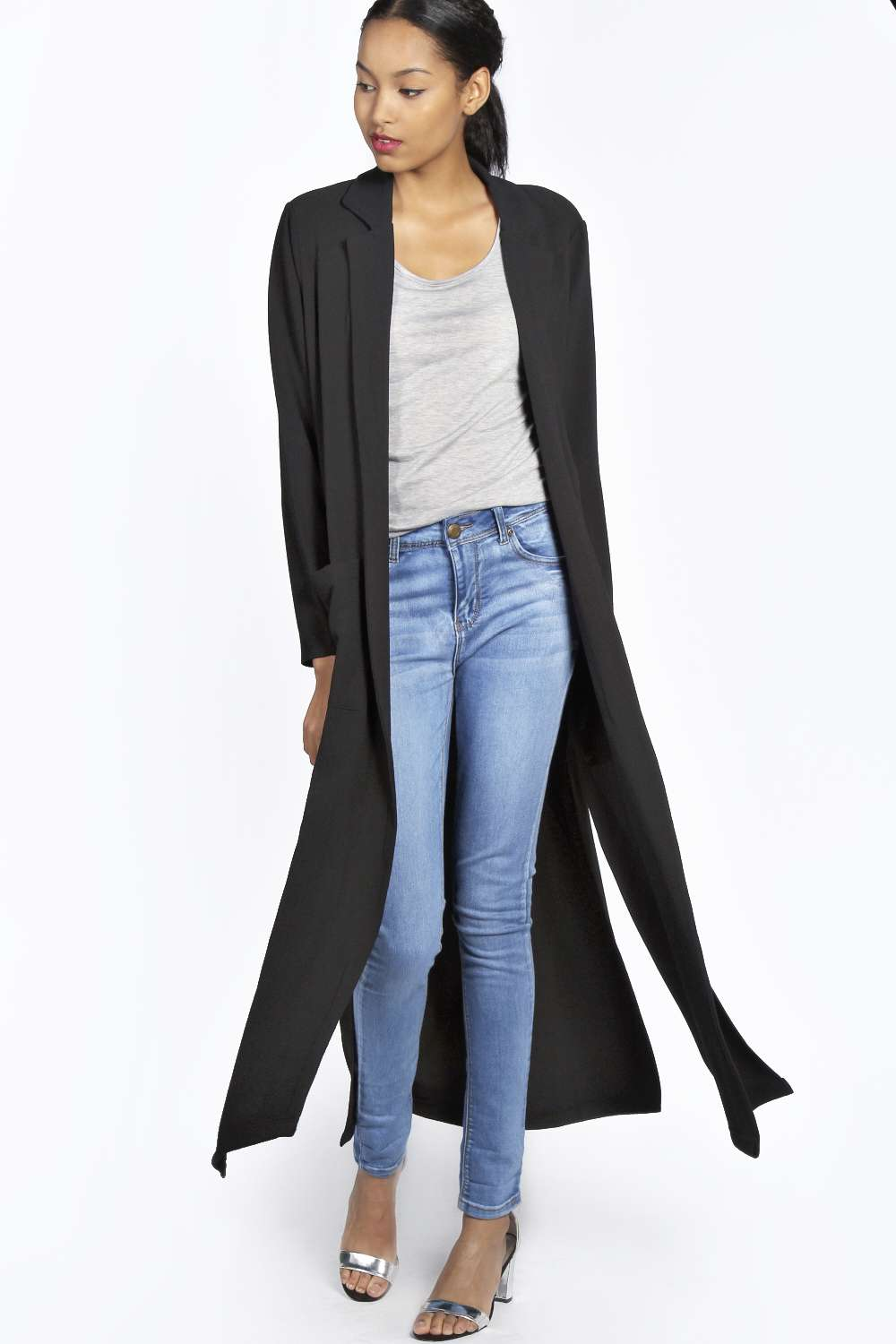 Split Side Duster Coat