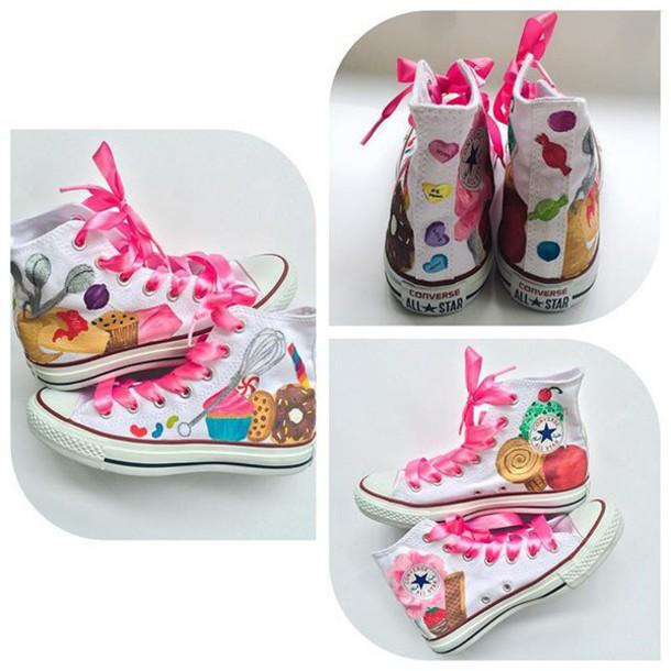 Ice Cream Tennis Shoes