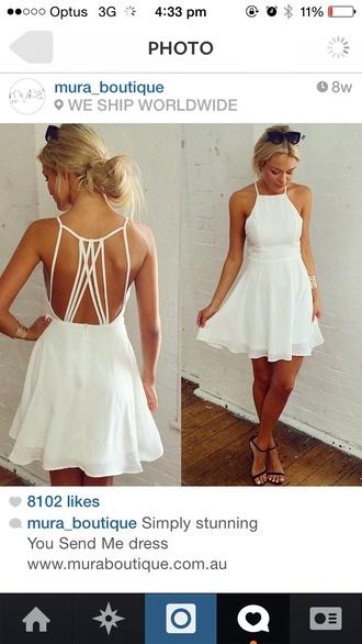 formal whitedress openbackdress helpmetofindit shortdress short dress