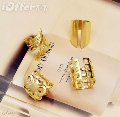 mix design finger ring set 1set=4pcs gift for women for sale