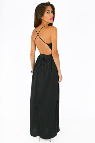 X back maxi dress ~ tobi