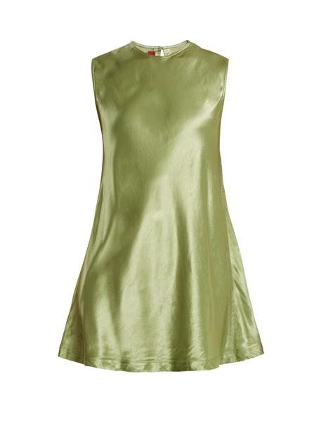 SIES MARJAN top sleeveless top sleeveless satin green