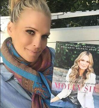 scarf molly sims