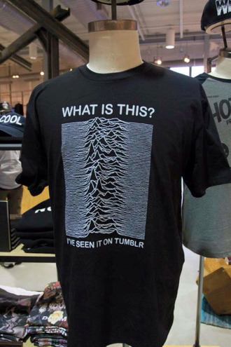 t-shirt joy division menswear
