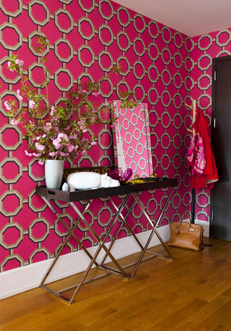 home accessory tumblr home decor home furniture furniture pink wall paper wall decor table mirror flowers