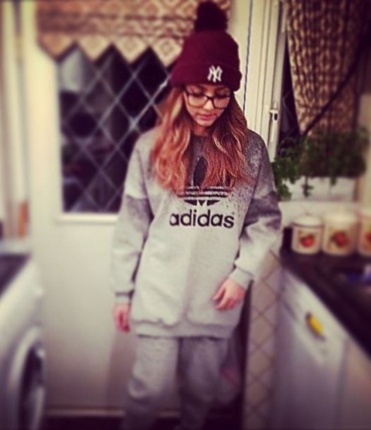 sweatpants jade thirlwall beanie adidas sweater pants