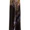Abstract floral-print hammered silk-satin skirt