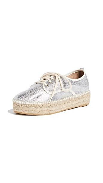 Loeffler Randall sneakers silver shoes