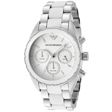 aae98b4e61 Emporio Armani Ar5940 Sports Luxe Watch | Shop Armani Ar5940 Women's Silver  Designer Watch