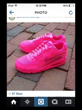 shoes pink nike air max 90 hyperfuse