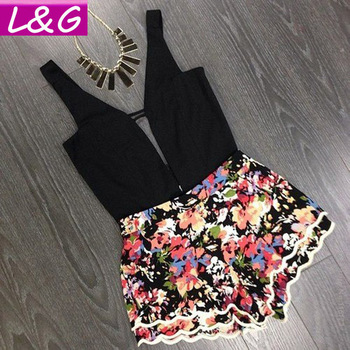 Aliexpress.com : buy l&g fashion women jumpsuits 2015 hot selling sexy floral print bodycon playsuit tropical jumpsuit rompers macacao feminino 10334 from reliable jumpsuits & rompers suppliers on ladies&gentlemen