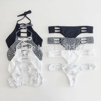 Aliexpress.com : buy 2015 hot sale vintage bra black bikini for women,strappy swimsuits brand retro bandage red cut out swimwear brazilian monokini from reliable bikini brand suppliers on igoodbuy