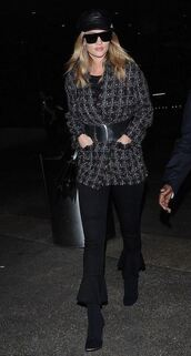 jacket,rosie huntington-whiteley,model off-duty,fall outfits