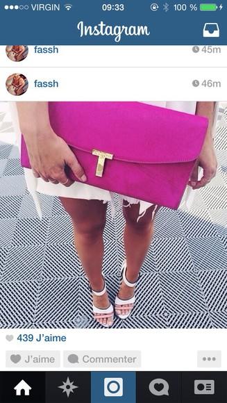 bag pink bag pink wallet wallet