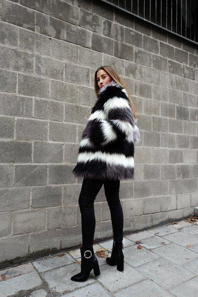 kenza blogger top pants shoes jacket