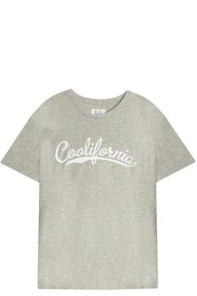 Zoe Karssen t-shirt shirt t-shirt grey top
