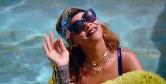 sunglasses rihanna music video jewels phone cover hair accessory