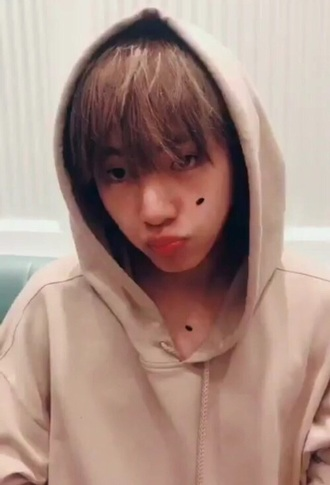 sweater beige hoodie taehyung taehyung hoodie kpop beige sweater kim taehyung bts taehyung