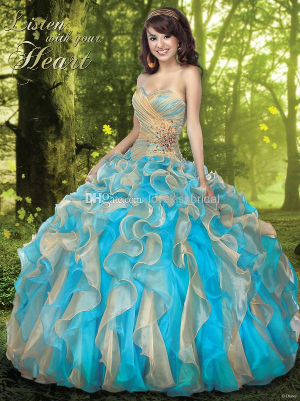 Discount 2015 New Vintage Ball Gown Quinceanera Dresses Sweetheart Floor-Length Applique Ruffls Beads Sequin Girls Prom Dress Gowns for Quinceanera Online with $142.41/Piece | DHgate