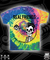 All in merchandise rf pizza tie dye tee