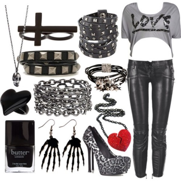 t-shirt cute belt shirt bracelets shoes necklace earrings skeleton leather pants pants skinny pants bag nail polish jeans jewels