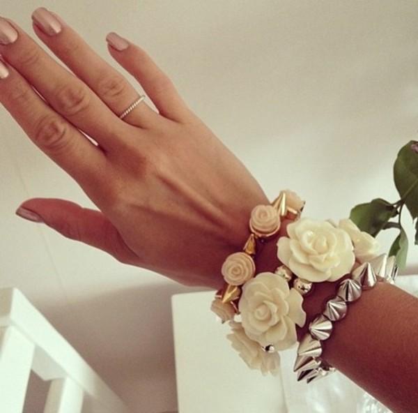 jewels flowers pastel bracelets gold claires ebay