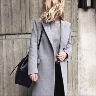 coat black coat jacket