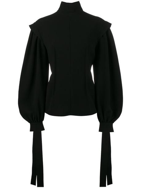 LOEWE blouse women black top