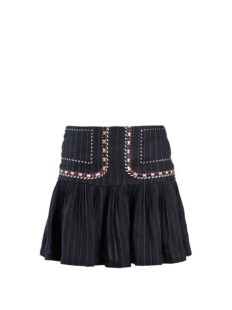 Isabel Marant etoile skirt navy