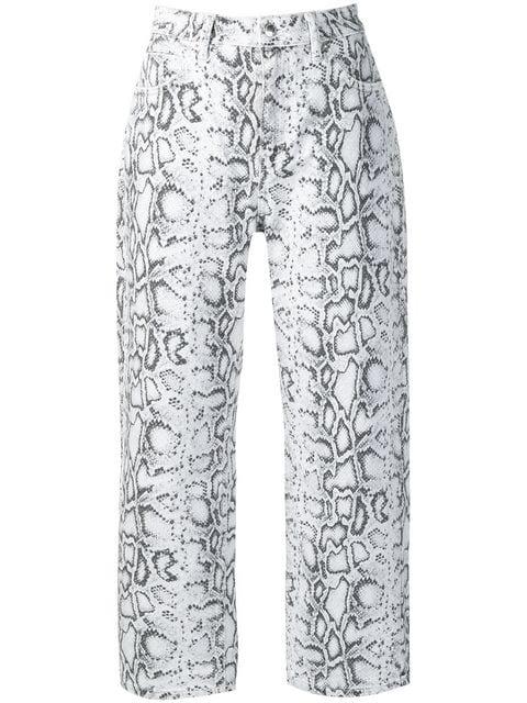 Alexander Wang python-print Jeans - Farfetch