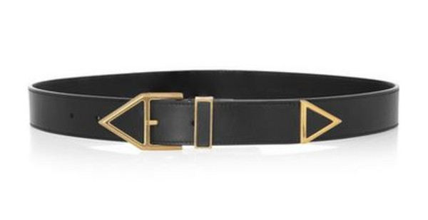 belt saint laurent leather belt leather jewelry jewels yves saint laurent accessories