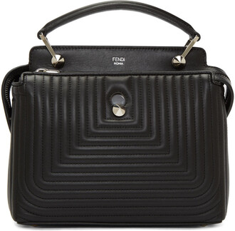 quilted bag black